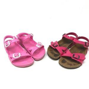 Birkenstock Rio Pink Bundle Pair Size 12